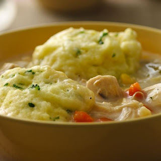 Gluten-Free Chicken and Dumplings.