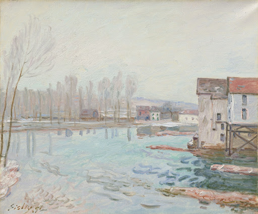 Moret in Winter