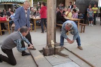 Photo: Bilder rund um den Maibaum - kann es endlich weitergehen weil..