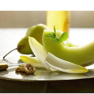 Endive, Honeydew and Pear Salad