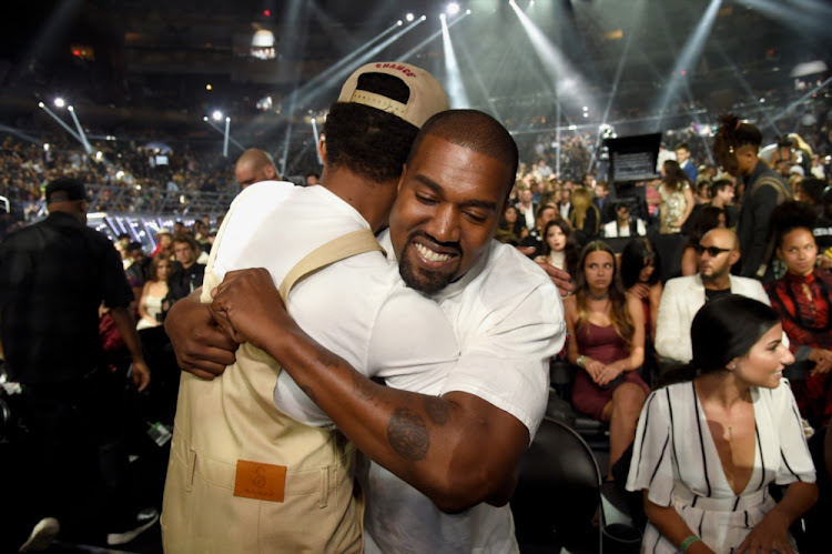 Chance the Rapper (L) and Kanye West (R) were working on an album together.