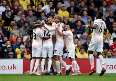 Lukaku et Fellaini décisifs dans le choc contre le Watford de Kabasele