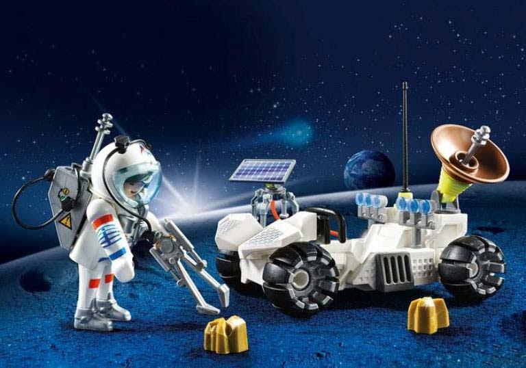 Contenido real de Playmobil® 9101 Maletín Grande Exploración Espacial