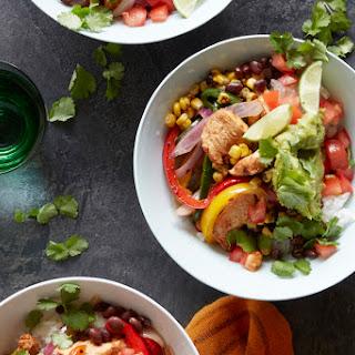 Mexican Chicken Fajita Bowl.