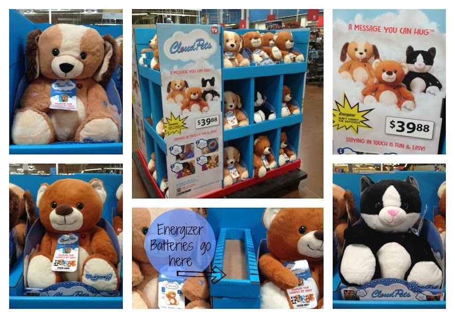CloudPets - including the Puppy, Kitty, Bear and exclusive Unicorn - are now available at Walmart