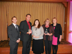 Photo: Left to right: Derek Ross, Jonathan Schreter, Melissa Phillipp Himes, Gina Willard and Marian Jocz