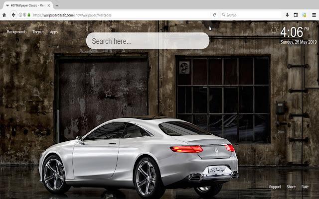 Mercedes Wallpaper HD New Tab Themes