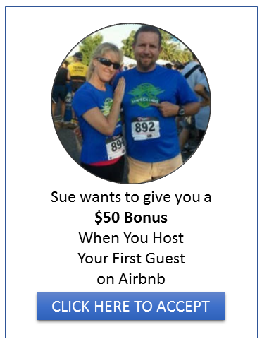 Click here to get a $50 bonus when you host your first guest on Airbnb