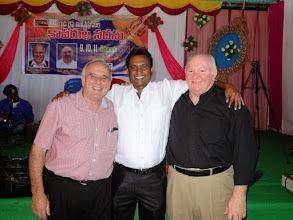 Photo: A great privilege and joy in working with these dear brothers for the cause of Jesus Christ in India.