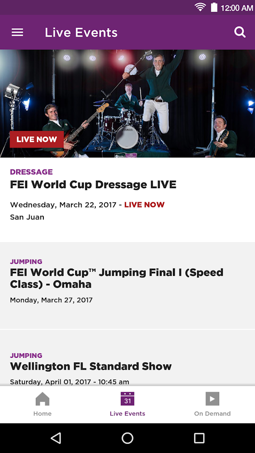 FEI TV on the Go- screenshot