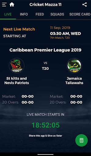 Cricket Mazza 11 Live Line & Fastest Score screenshot 3