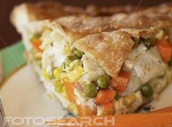 Semi-homemade Chicken N Rice Pot Pie Recipe