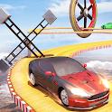 Crazy Car Driving Simulator: Mega Ramp Car Stunts icon