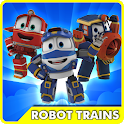Video Robot-Trains Transformer icon