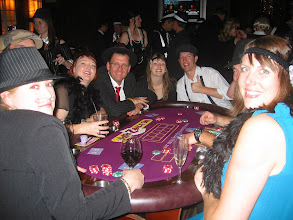 Photo: Ganster Poker WHK Horwarth guests