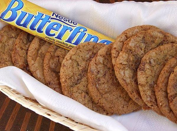 Butterfinger- Chunk Cookies Recipe
