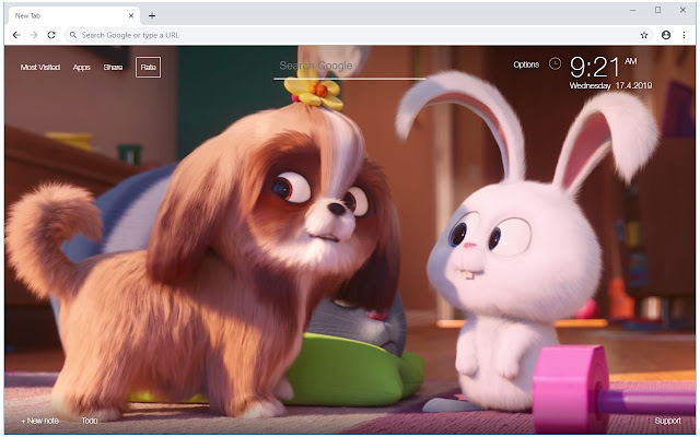 The Secret Life Of Pets 2 Wallpapers New Tab