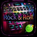 Rock & Roll GO Keyboard Theme icon