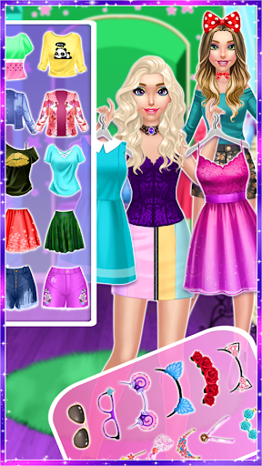 Télécharger Trendy Fashion Styles Dress Up APK MOD (Astuce) screenshots 1