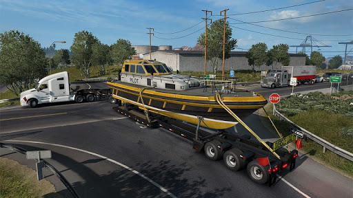 Euro Truck Boat Cargo Driving Simulator 2020 1.0.8 screenshots 5