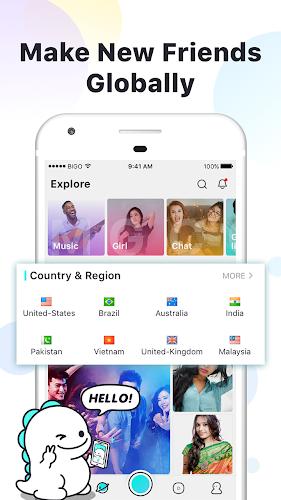 BIGO LIVE - Live Stream Android App Screenshot