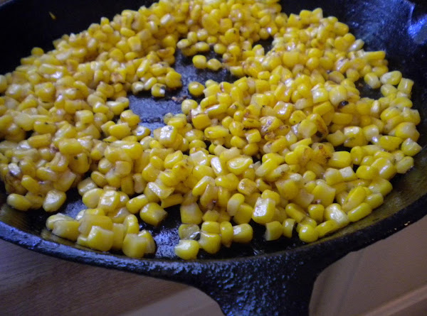My Fried Garlic Corn With Parsley Recipe