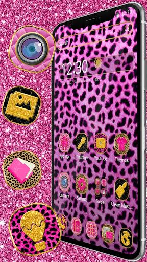 Pink Leopard Skin Themeud83dudc3e 1.1.3 screenshots 2