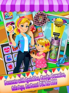Theme Park Fair Food Maker - Candy Pizza Kids Game- screenshot thumbnail