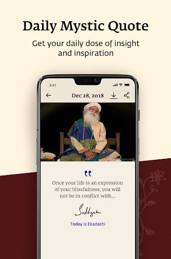 Sadhguru - Yoga, Meditation & Spirituality 5.0 screenshots 5