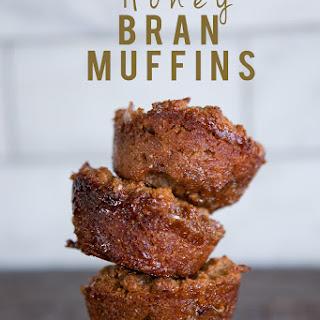 Honey Bran Muffins