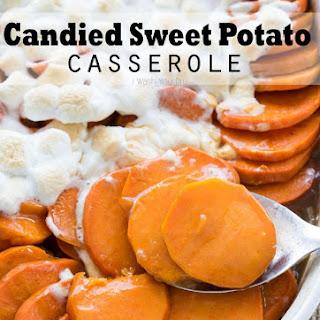 No Boil Candied Sweet Potato Casserole
