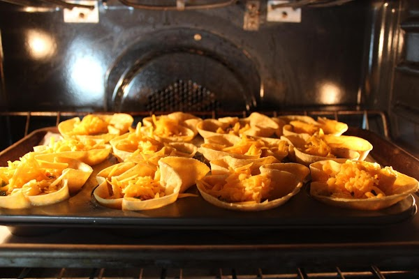 Bake at 400 degrees for 15-20 minutes. Let cool a little bit before eating,...