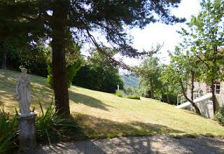 Photo: Overzichtsfoto tuin vanaf het zonneterras