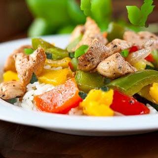 Thai Basil Chicken Stir-Fry (Gai Pad Grapow).