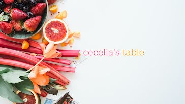 Ceclia's Table - YouTube Channel Art template