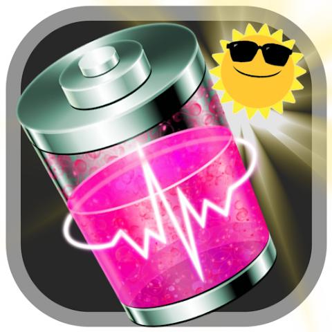 android Battery Solar Sunlight Prank Screenshot 1
