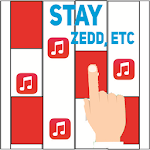 Piano Magic - Zedd, Allesia Cara; STAY Icon