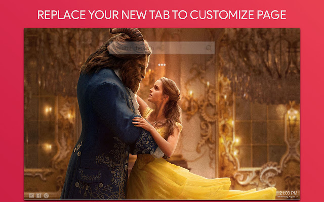 Beauty And The Beast Wallpaper HD New Tab