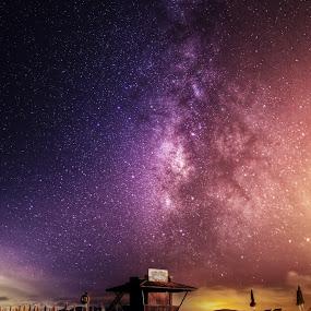 Milky Way by Wojciech Toman - Landscapes Starscapes