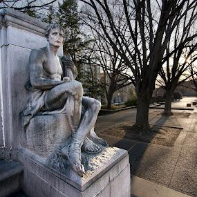 James Buchanan Memorial Part II by Glen Fortner - Buildings & Architecture Statues & Monuments ( dc, washington, meridian hill park, james buchanan, capital )