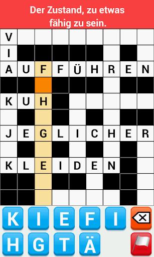 Kreuzworträtsel Deutsch Adfree screenshot 2