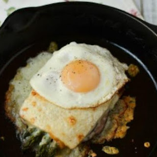 Croque-Madame with Asparagus