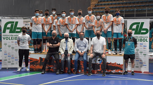 'Wefferent Mintonette' se proclama campeón de Andalucía de Voleibol en Infantil