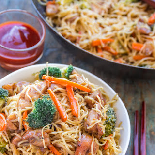 Egg Fried Noodles With Chicken Recipes