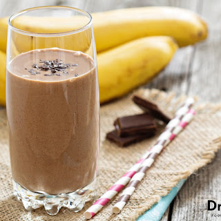Chocolate Banana Nut Smoothie.