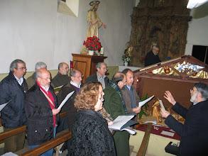 Photo: 29/12/2007 Albares de la Ribera (El Bierzo-León). Reunión navideña organizada por Chema Sarmiento.