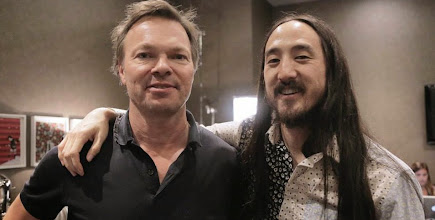 Photo: Chillin with the radio legend, Pete Tong!