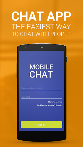 Chat app for Android