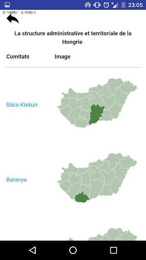 Comitats de Hongrie - quiz,tests,cartes,drapeaux APK MOD (Astuce) screenshots 6