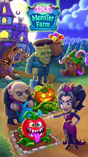 Idle Monster Farm: Feliz Halloween Mod